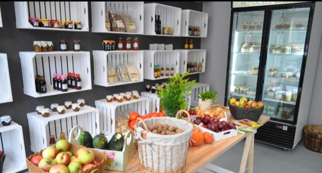 ZIELONA SPIŻARNIA  Twoje Najzdrowsze Delikatesy  Jedyne takie w Wielkopolsc   -> Projekt Kuchnia Stary Browar Poznan